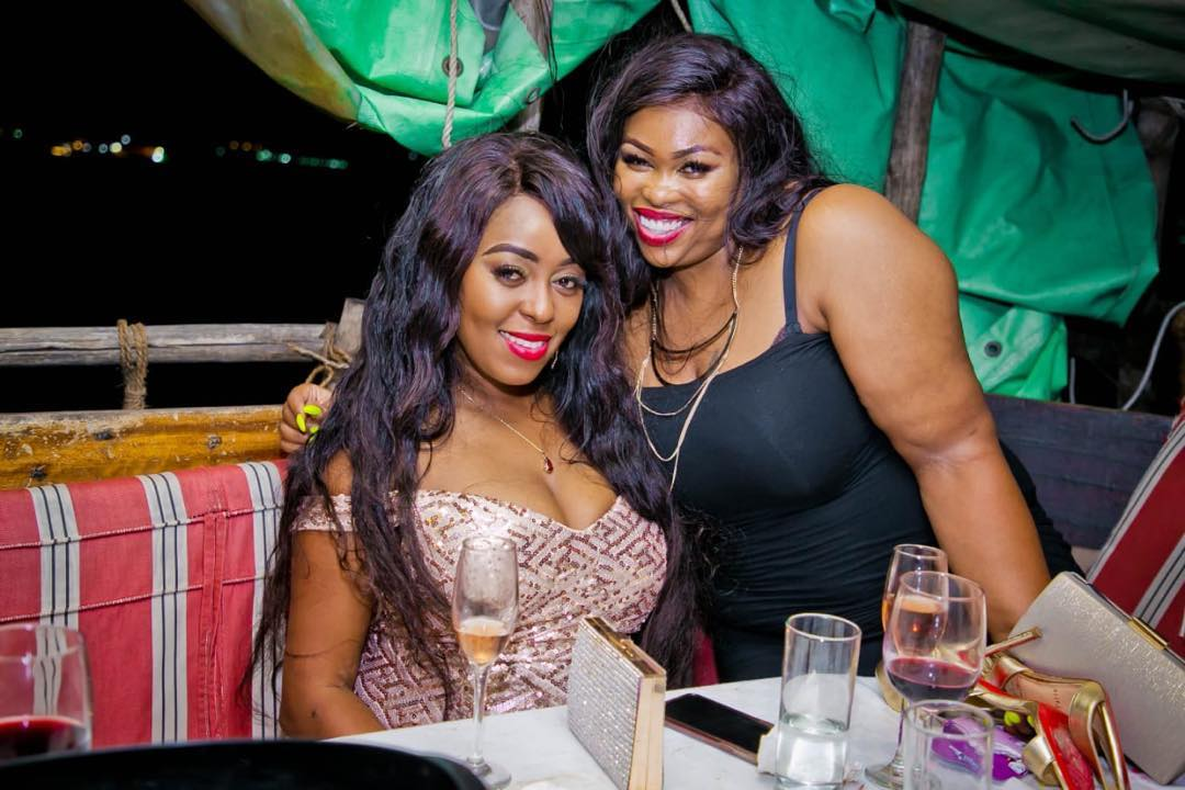 59624598 413117312846801 6450476826509681106 n - Lillian Muli shows off sexy cleavage and tender thighs