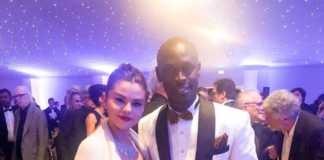 King Kaka with Selina Gomez