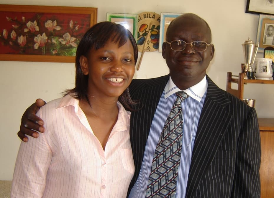 Carol with her dad Radull