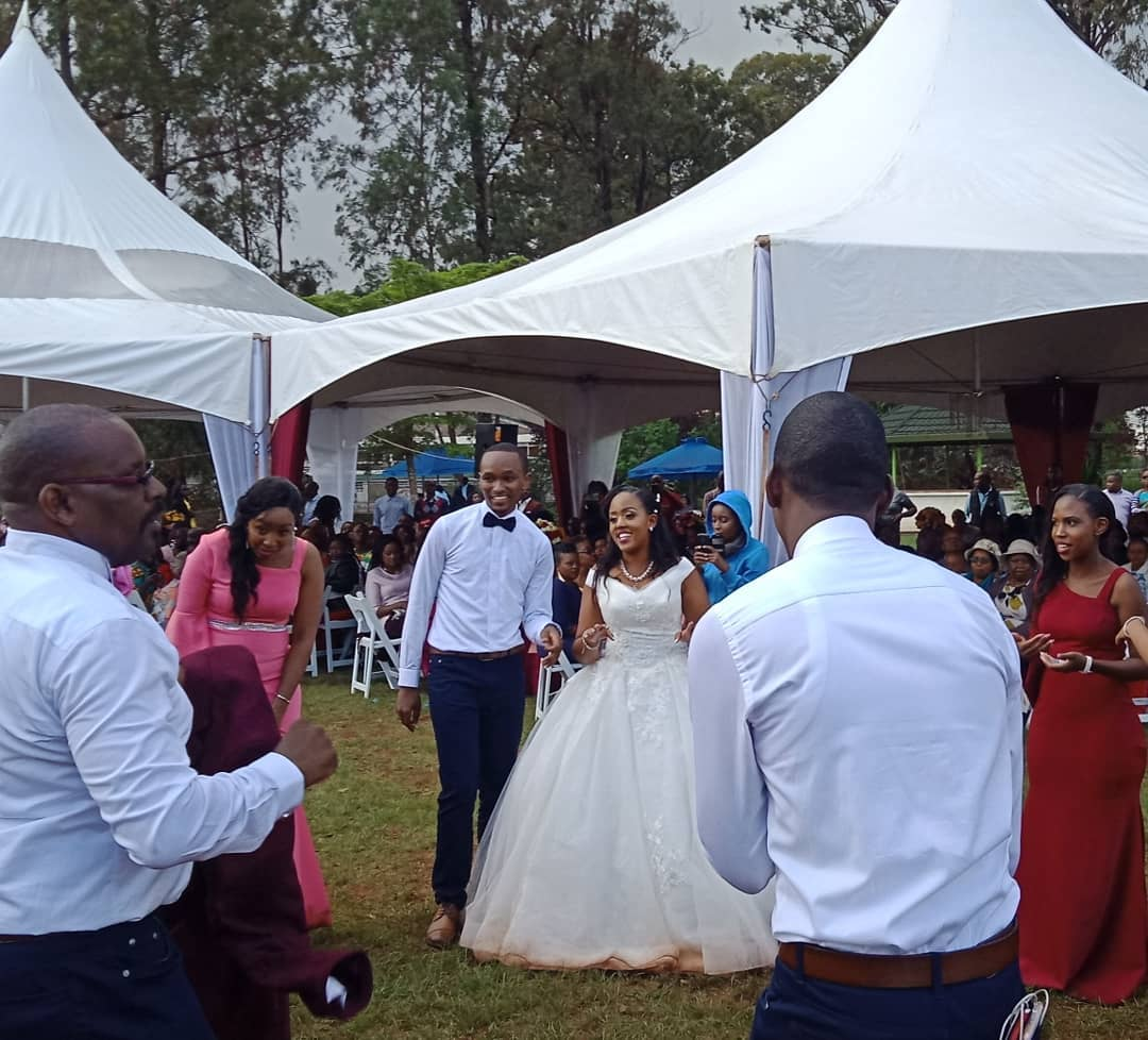 60700511 137363540660607 9041374318226745804 n - Photos: Citizen TV's Sam Gituku weds colleague Ivy Wangechi