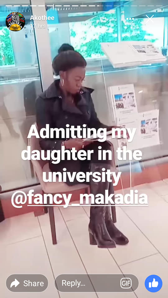 Akothee770 - Pesa otas! Akothee pays Sh2.2 million for daughter's university fees