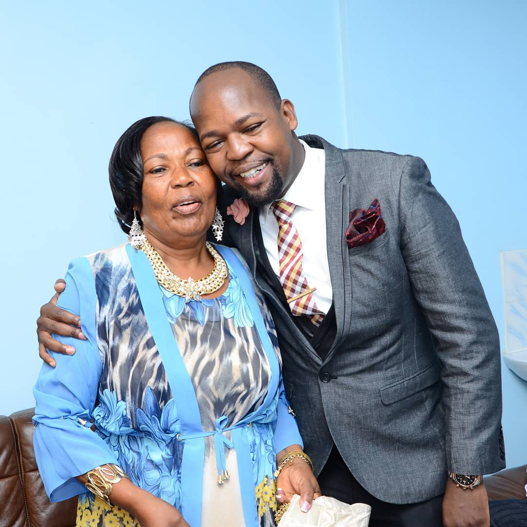 Alex Mwakideu - 'Let your mum rest' Read Jalango's condolence message to Mwakideu