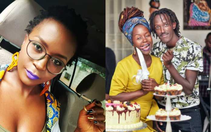 Anne Kansiime with lover Sky