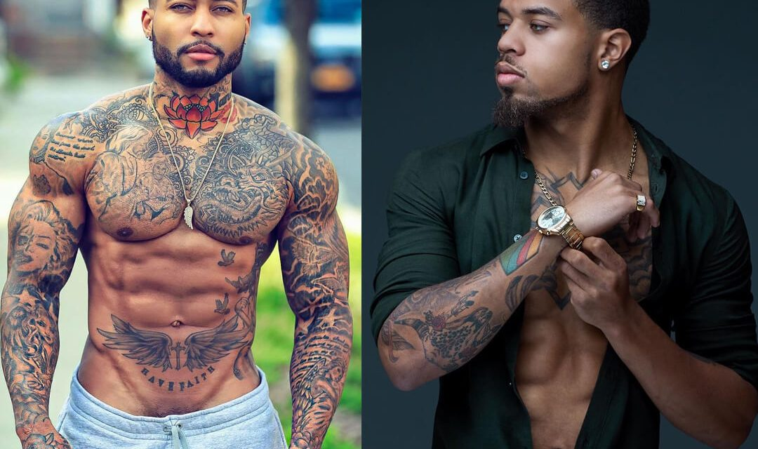 Black Men with Tattoos 1080x640 - Careers you can easily find love and meet your soulmate