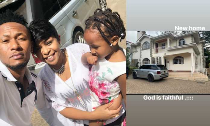 DJ Mo and Size 8 new home