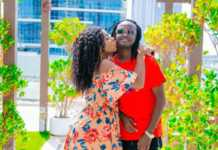 Diana-Marua-kissing-Bahati-on-the-cheek