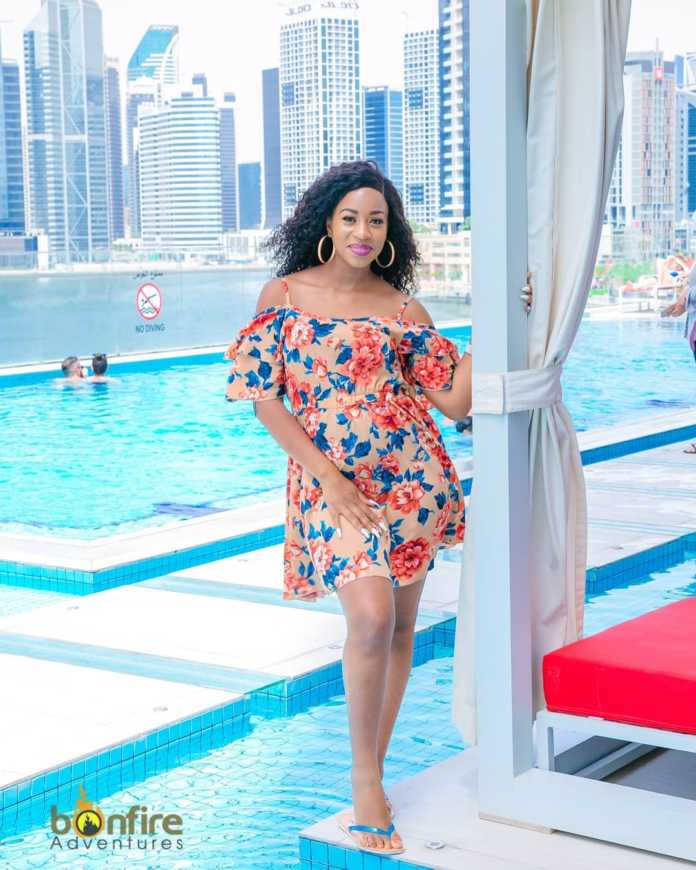 Diana Marua pregnant 2 696x870 - 'I didn't come on earth to die poor!' Diana Marua to online trolls