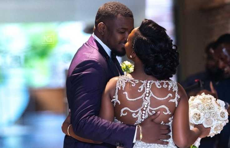 Dumello 5 e1558080184668 - Popular actor's bride wears wedding dress worth Ksh 98,000