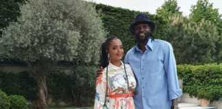 Emmanuel Adebayor and Dillish Mathews