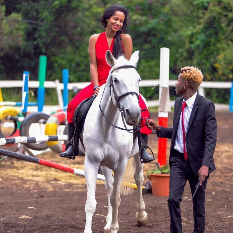 Erc Chantal - No more billboards! Chantal spends birthday without Eric Omondi