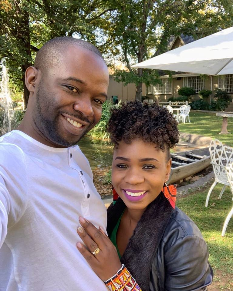 Evelyn Wanjiru and her husband - 'If Kambua is pregnant, I now have hope for a child,' Evelyne Wanjiru says