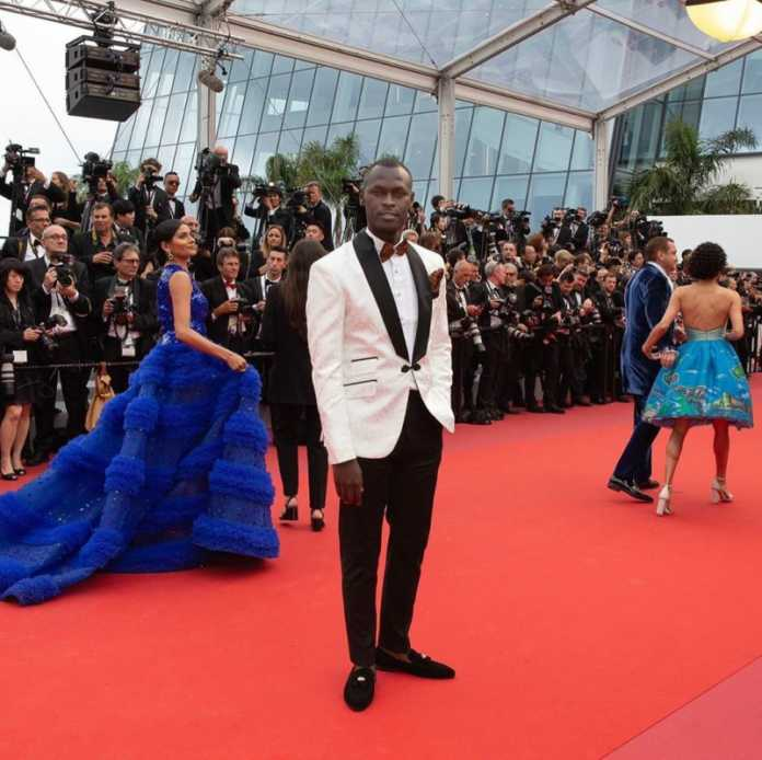 King Kaka in Cannes 696x694 - King Kaka first Kenyan musician in Cannes in 72 years!