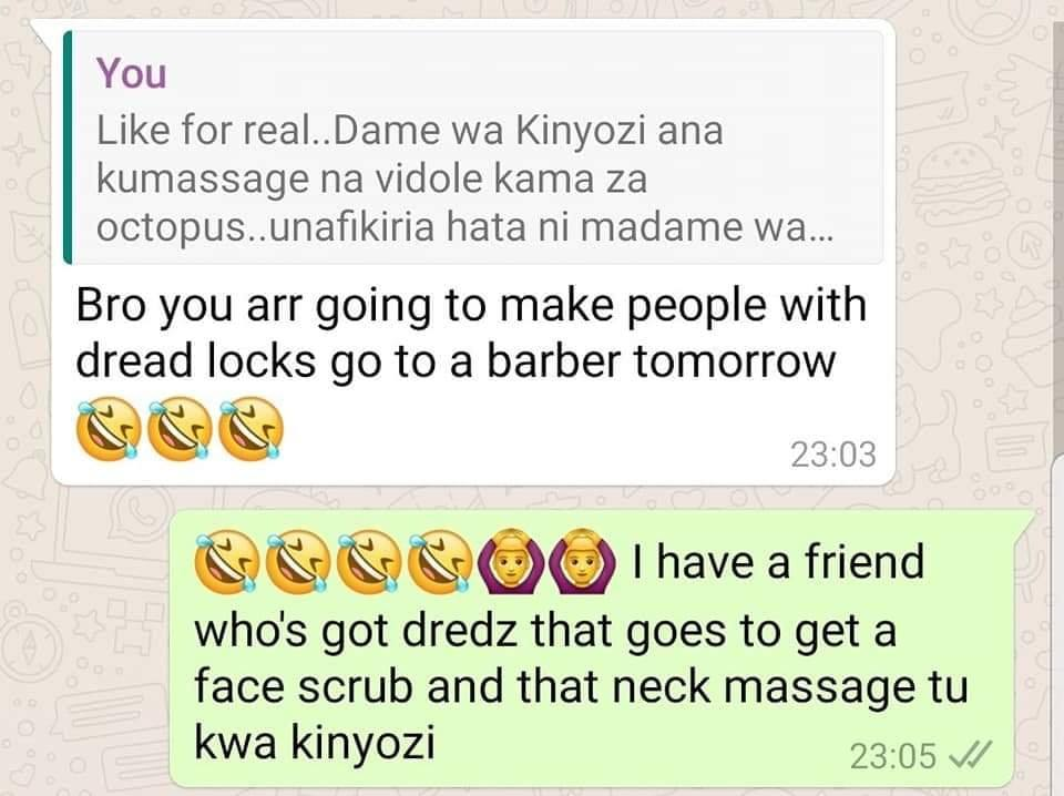 Kinyozi stories 2 - Kenyan men reveal crazy things that happen in barbershops