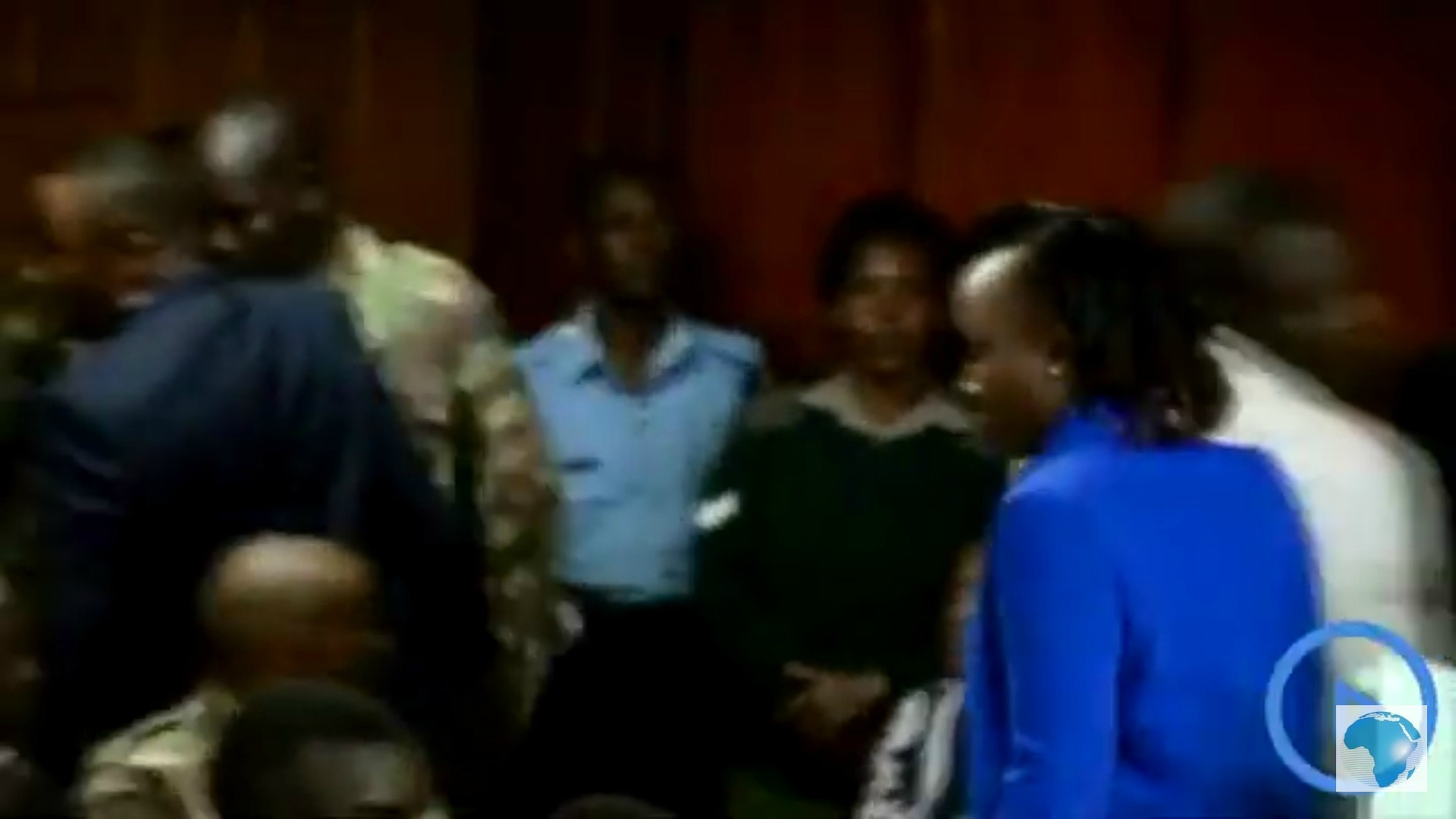 Maribe and Jowie in court 3 - Why did Jacque Maribe and Jowie Irungu wear blue yesterday?
