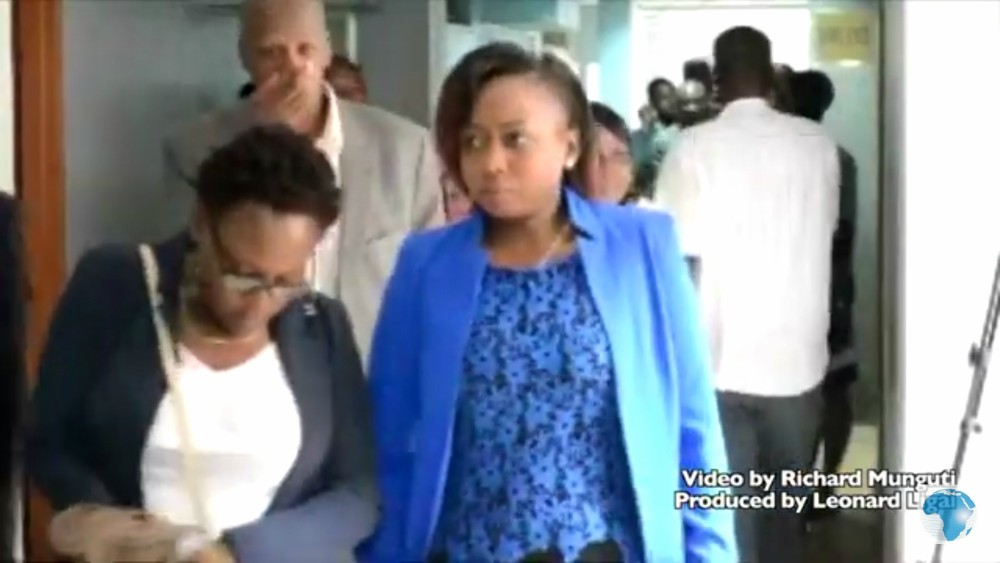 Maribe and Jowie in court 4 - Why did Jacque Maribe and Jowie Irungu wear blue yesterday?