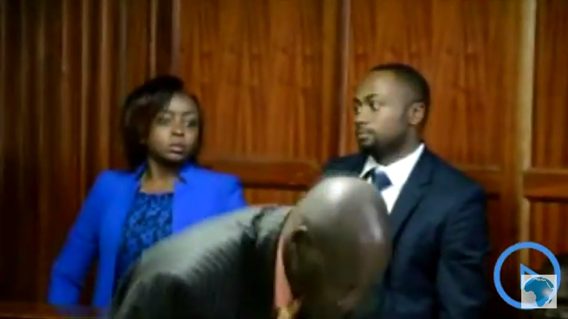 Maribe and Jowie in court - Jowie's unsettling appearance as he still nurses gunshot wound (Photos)