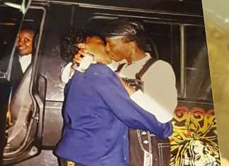 Mike-Sonko-kissing-his-wife
