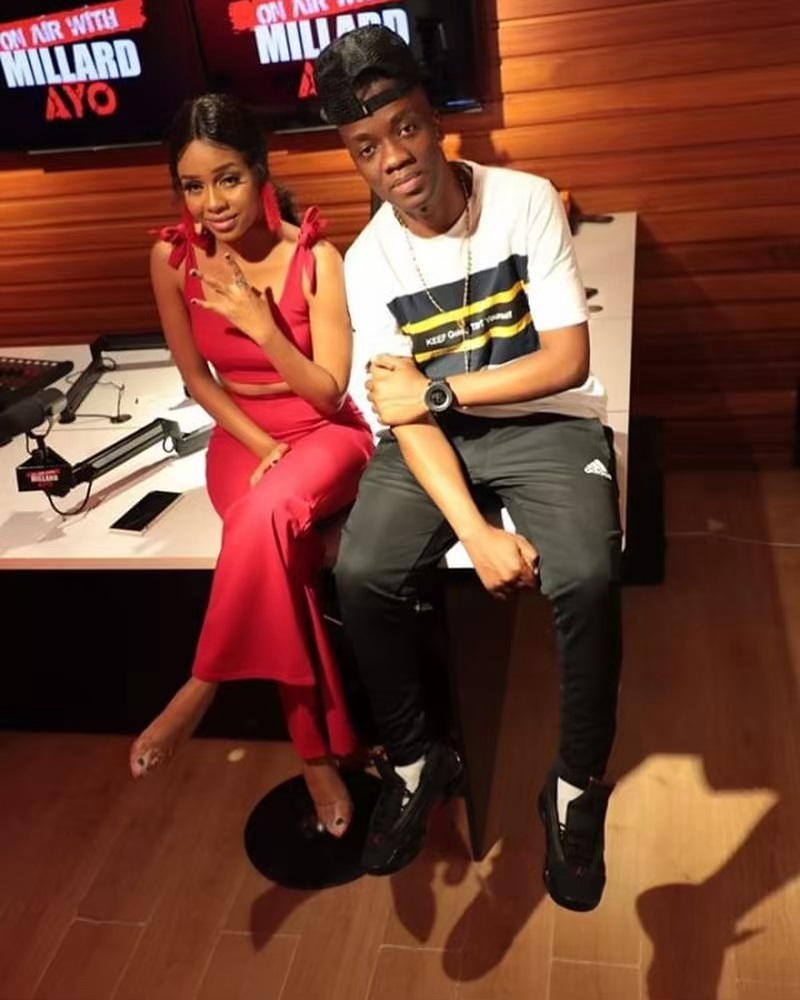 Nandy at the Millard Ayo studios - Nandy, 26, reveals reason she kept relationship with Ruge, 49, secret