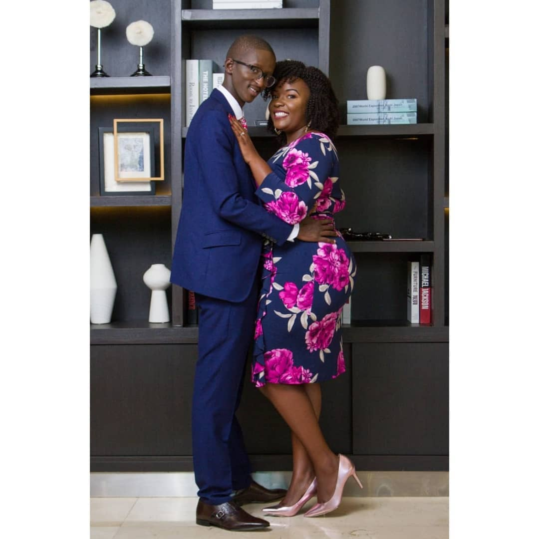 Njugush and wife - Njugush's wife celebrates his birthday amidst pregnancy rumour