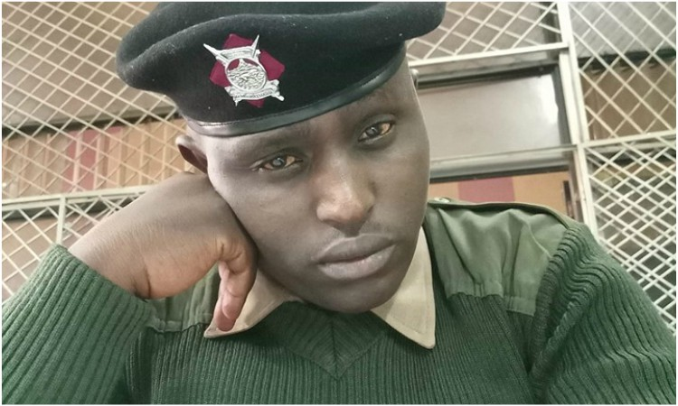 Police officer Apollo Kioria - 'Help! Mungiki has crippled me, now the will kill me!' AP cries