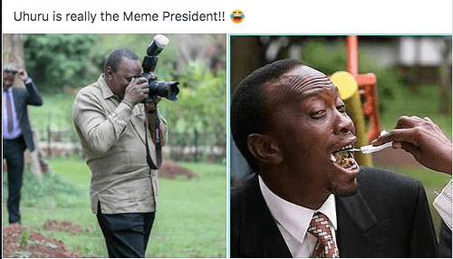Screen Shot 2019 05 27 at 6.28.28 AM - Kenyans go crazy with the Uhuru Kenyatta 'photographer' memes