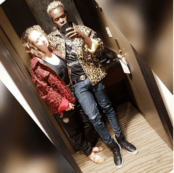 Screen Shot 2019 05 28 at 7.24.42 AM - Willy Paul falls for a mzungu bae in Texas (Kissing video)