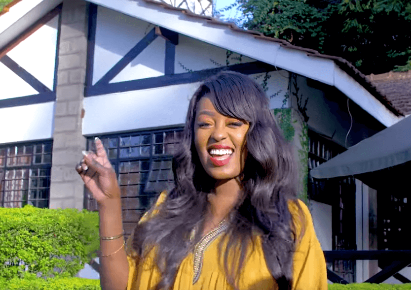 '...hope this one lasts,' Fans react to photo of Lillian Muli kissing man in public