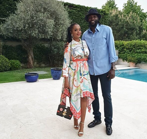 Screenshot from 2019 05 07 07 26 50 - Emmanuel Adebayor leaves women heartbroken, Dillish Mathews confirms they're dating