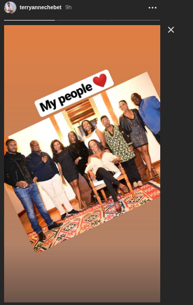 Screenshot from 2019 05 25 114805 - Photos of Terryanne Chebet's posh 40th birthday
