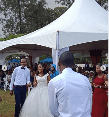 Screenshot from 2019 05 26 11 23 13 360x385 - Photos: Citizen TV's Sam Gituku weds colleague Ivy Wangechi