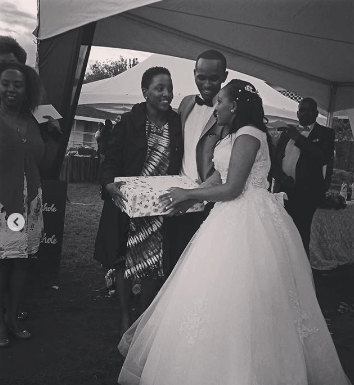 Screenshot from 2019 05 26 11 23 23 354x385 - Photos: Citizen TV's Sam Gituku weds colleague Ivy Wangechi