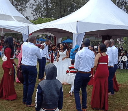 Screenshot from 2019 05 26 11 24 19 443x385 - Photos: Citizen TV's Sam Gituku weds colleague Ivy Wangechi