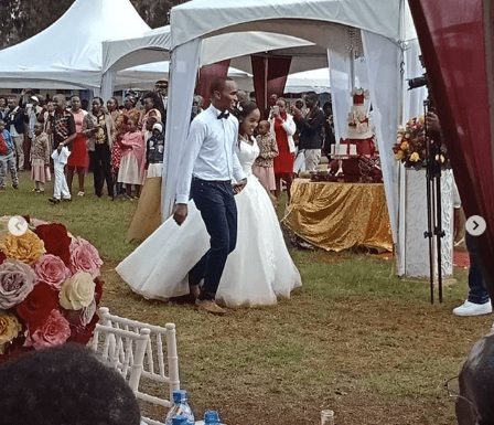 Screenshot from 2019 05 26 11 24 43 448x385 - Photos: Citizen TV's Sam Gituku weds colleague Ivy Wangechi