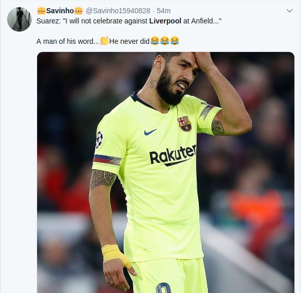 Screenshotfrom2019 05 08073525 - Kama Lazarus! Reactions to Liverpool win over Barcelona