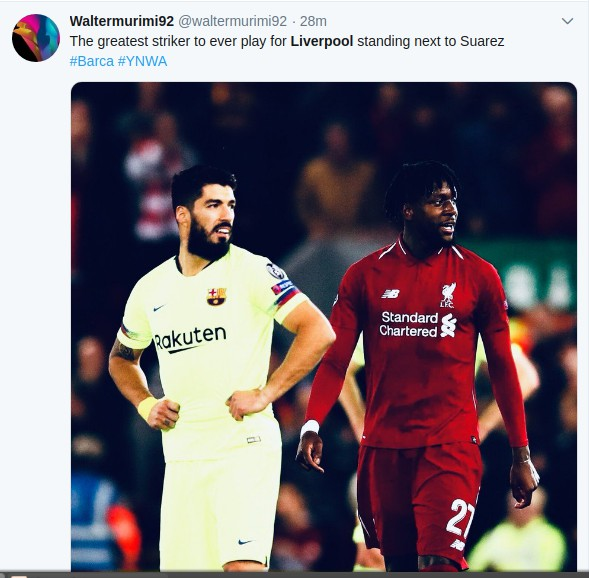 Screenshotfrom2019 05 08073753 - Kama Lazarus! Reactions to Liverpool win over Barcelona