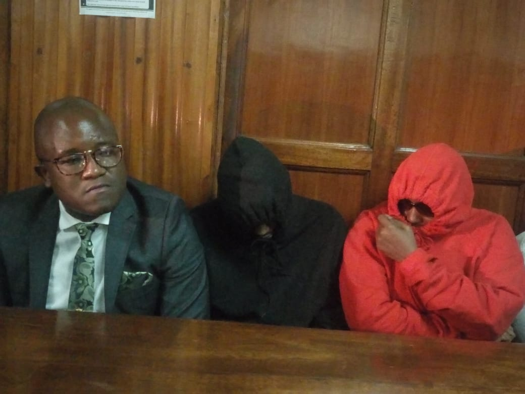 WhatsApp Image 2019 05 17 at 11.32.43 AM - Jared Otieno shows up in court looking dapper in a grey suit (Photos)