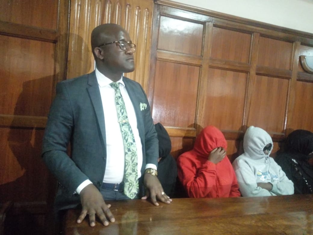 WhatsApp Image 2019 05 17 at 11.32.54 AM - Jared Otieno shows up in court looking dapper in a grey suit (Photos)