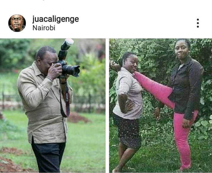 WhatsApp Image 2019 05 27 at 6.23.57 AM 5 e1558927670287 - Kenyans go crazy with the Uhuru Kenyatta 'photographer' memes