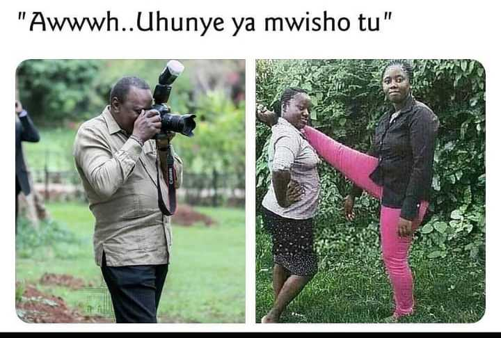 WhatsApp Image 2019 05 27 at 6.23.57 AM 6 e1558927652461 - Kenyans go crazy with the Uhuru Kenyatta 'photographer' memes