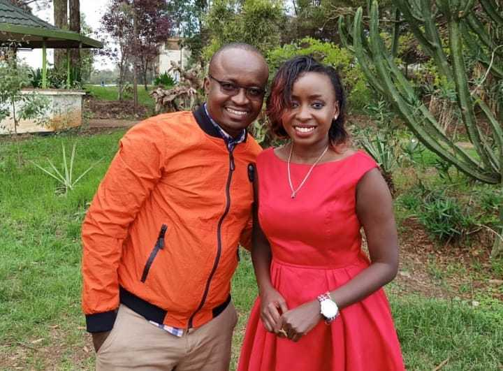 WhatsApp Image 2019 05 27 at 6.23.58 AM 2 e1558927779877 - Jacque Maribe stuns in red after resurfacing at Citizen TV's Sam Gituku's wedding