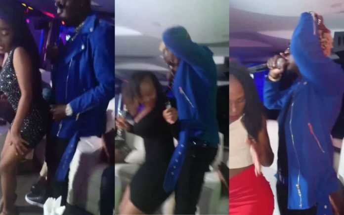 Willy Paul partying with women