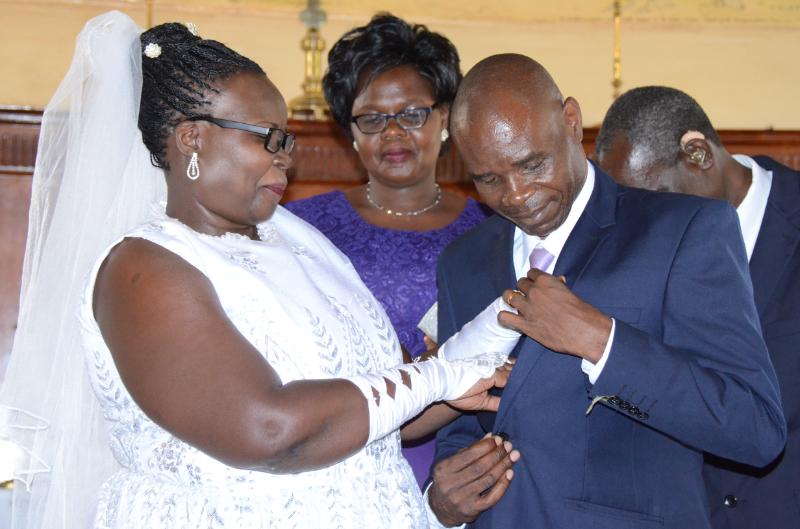 deaf couple2 - Love has no boundaries! Deaf couple ties the knot in Kitale