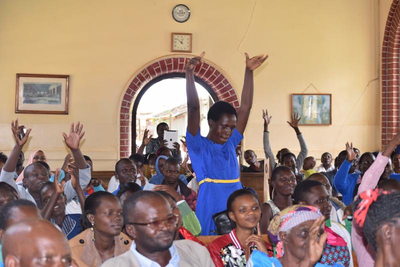 deaf couple3 - Love has no boundaries! Deaf couple ties the knot in Kitale