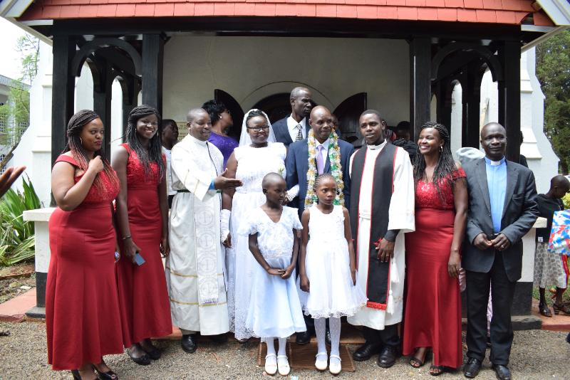 deaf couple4 - Love has no boundaries! Deaf couple ties the knot in Kitale