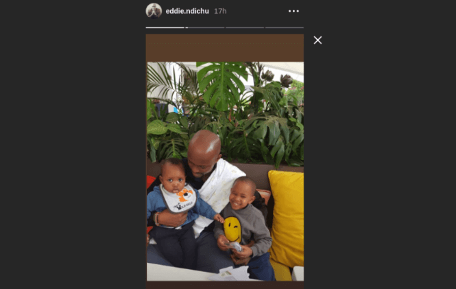 image 2019 05 27 3 - Janet Mbugua's husband unveils sons face, 8 months after his birth