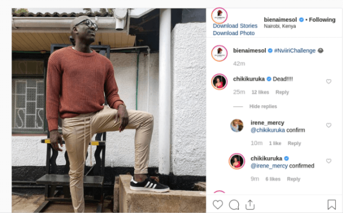 image 2019 05 30 9 1 - 'Mind your womb,' Fans begs Chiki after Bien flaunts family tree