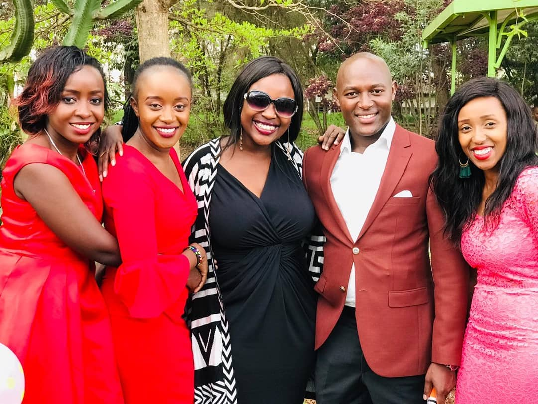 sam gituku wedding jacque Maribe - Jacque Maribe stuns in red after resurfacing at Citizen TV's Sam Gituku's wedding