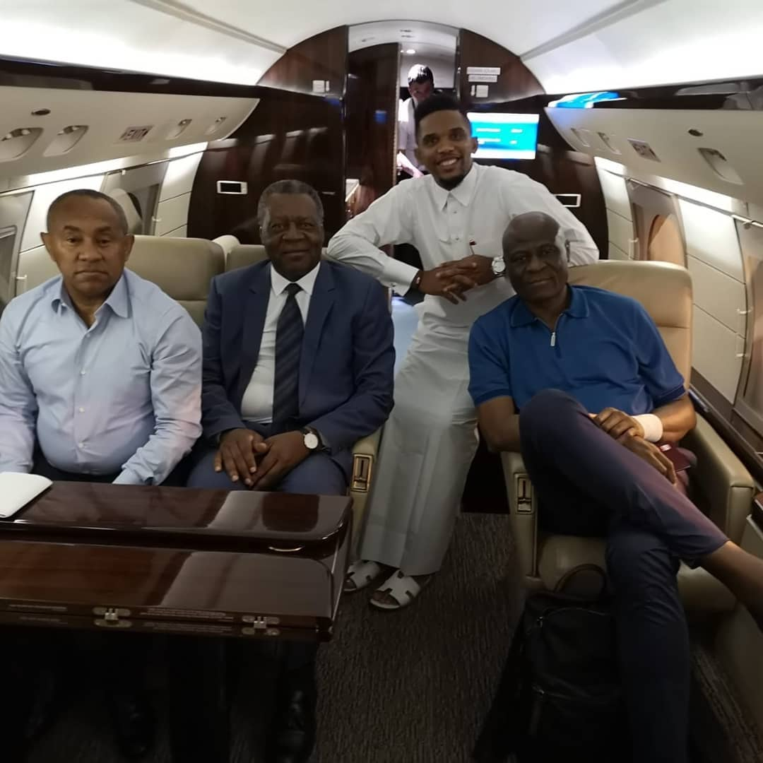 41681897 169973007254306 2521038904705165814 n - The good life: Meet African footballers who own private jets