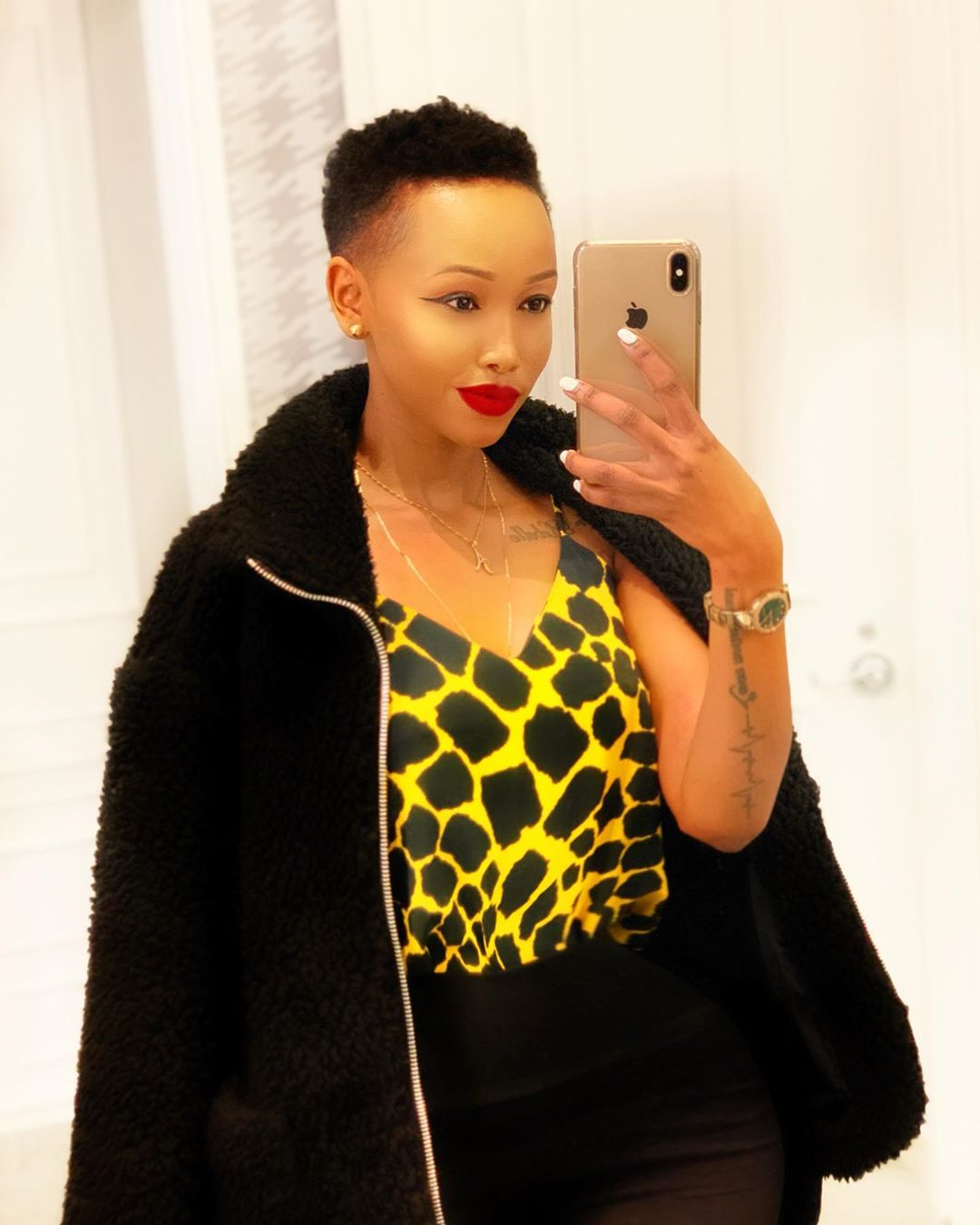 60429238 1966948060075992 1338622149494130594 n - 'Pudesh doesn't pay especially here in America,' says Huddah Monroe