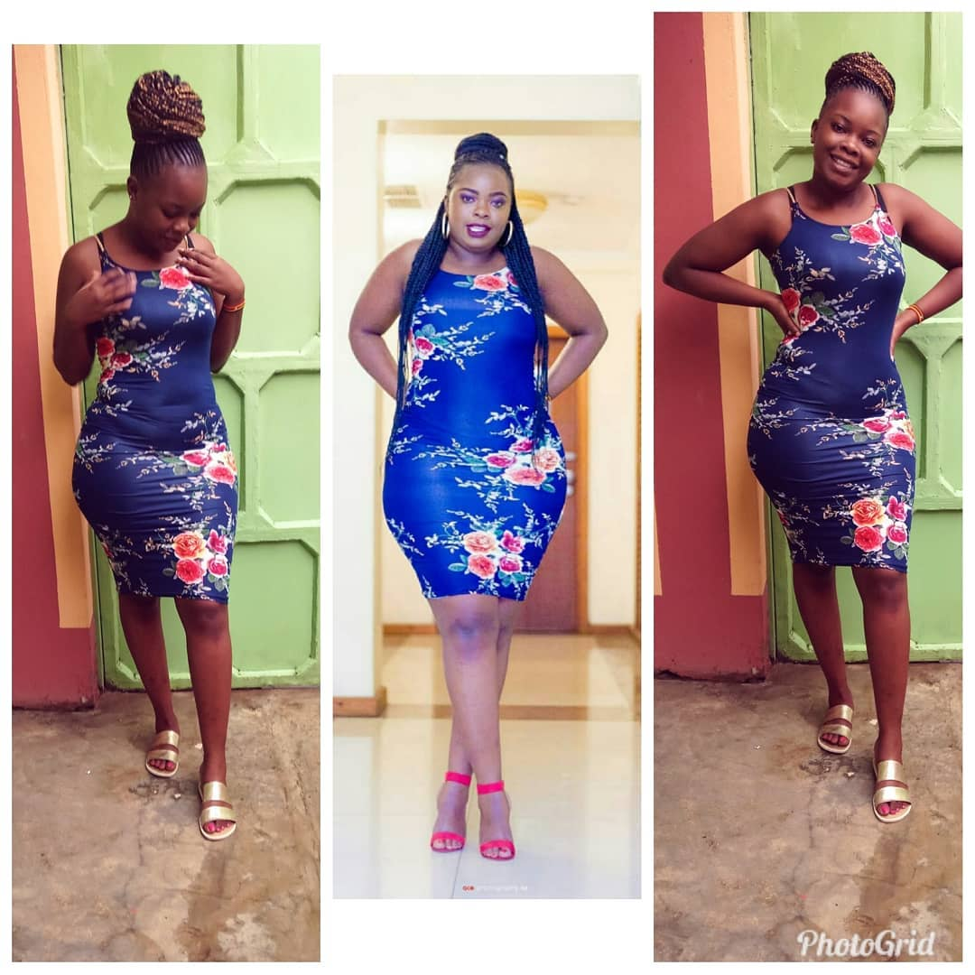 60757114 184387375889473 7281714386822452273 n - Bahati's baby mama spends 15k on corset to get hour glass figure